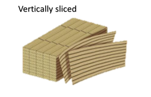Vertically sliced